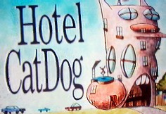 thier house into a hotel  Catdog House Inside